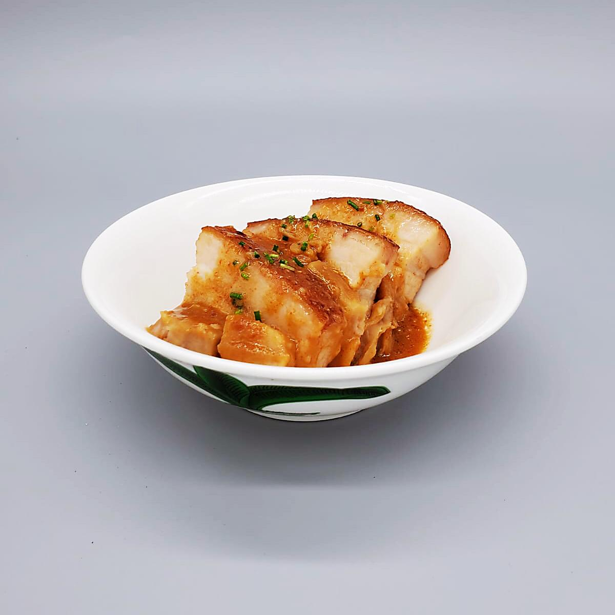 Steamed Pork belly with Fermented Tarocurd (New Product)