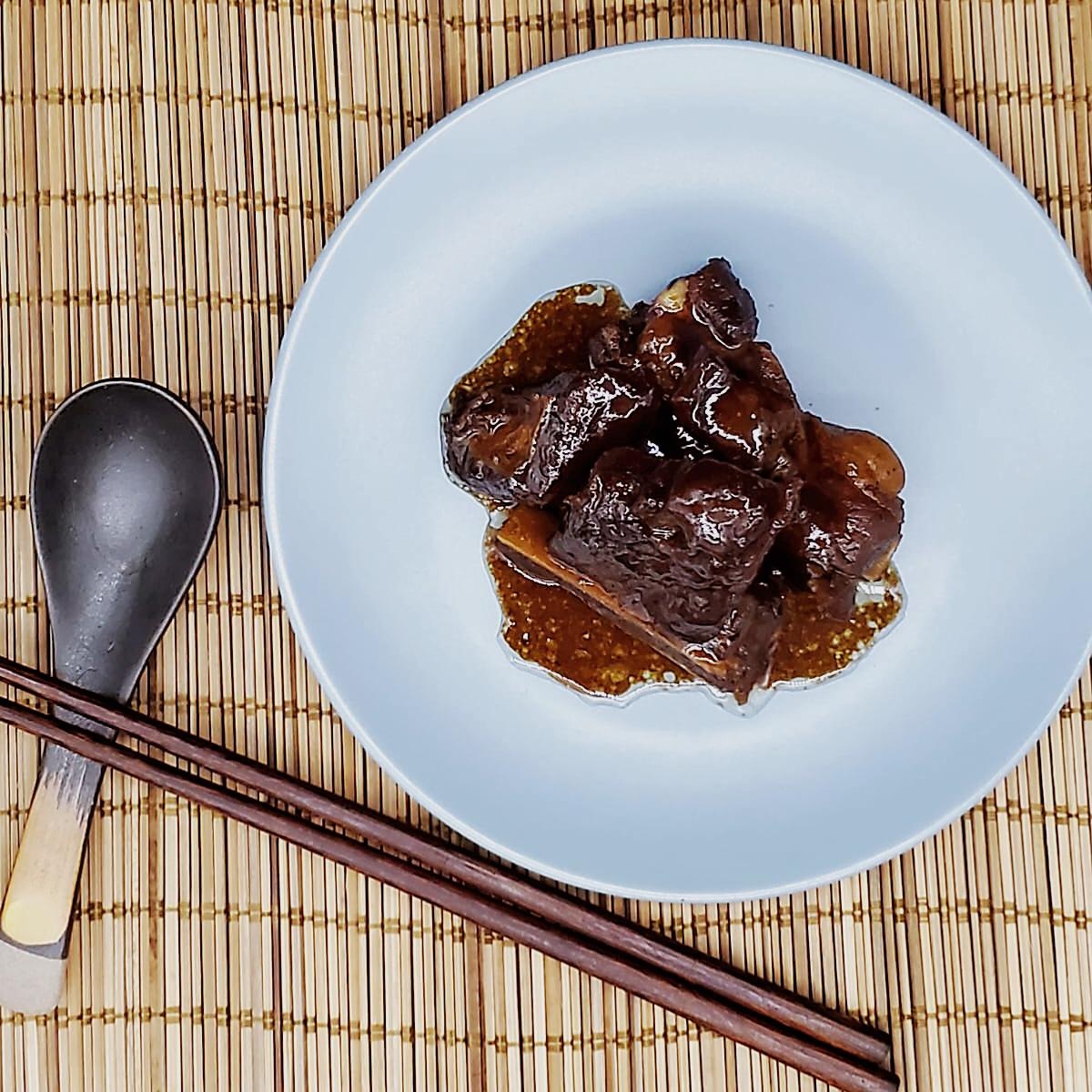 Braised Spareribs in Black Vinegar Sauce (New Product)