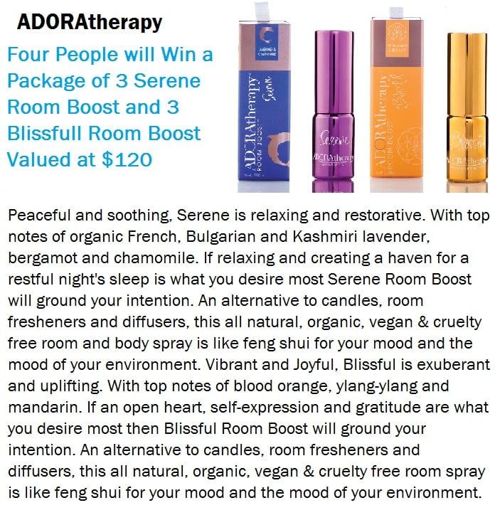 ADORAtherapy raffle