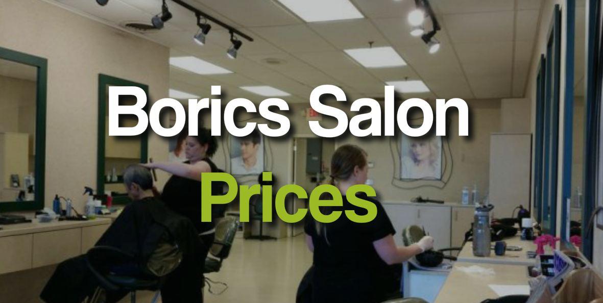 BoRics Salon Prices