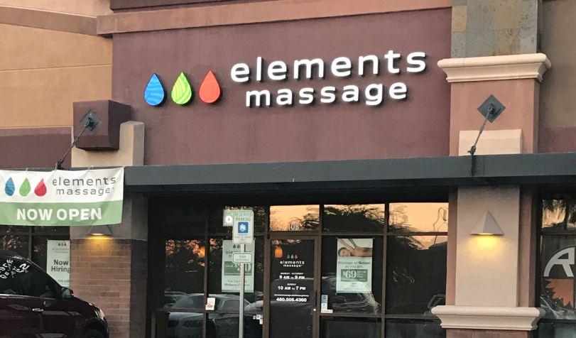 elements massage prices