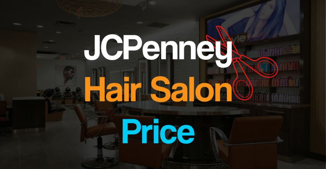 JCPenney Salon Prices