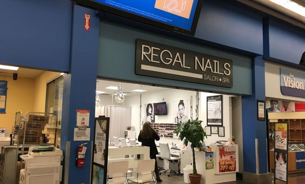Regal Nails Prices & Services (Walmart Nail Salon Prices)