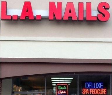 LA Nails Hours