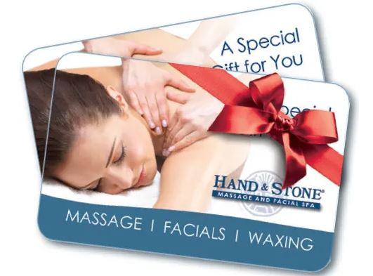 Hand And Stone Massage Gift Card