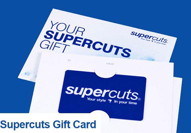 supercuts gift card