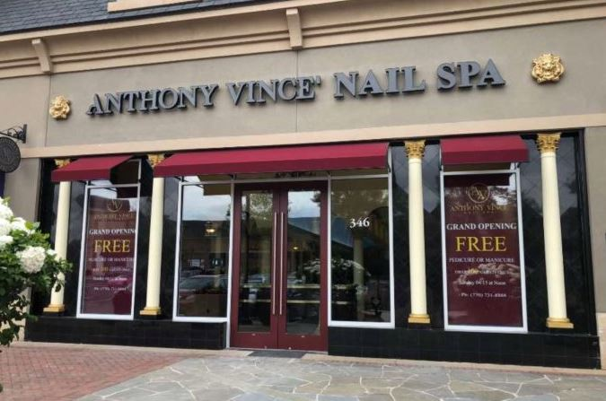 Anthony Vince Nail Spa Prices