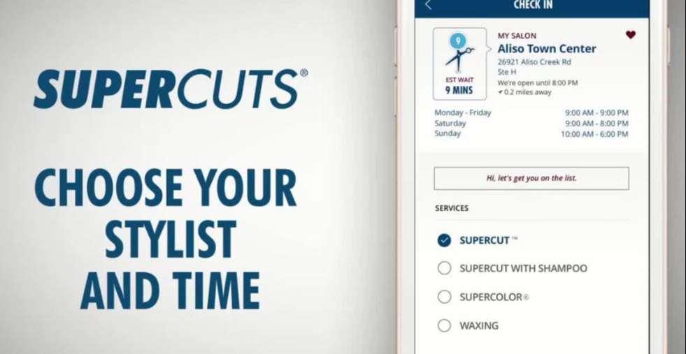 supercuts app