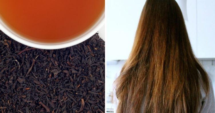 black tea for hair