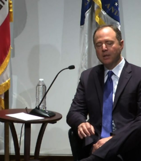 Image result for photos of Adam Schiff in deep thought""