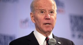 Joe Biden Stares With Confused Look On Face