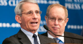 Dr. Fauci At Press Conference