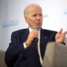 Joe Biden On Stage Interview