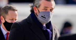 Ted Cruz Wearing Mask