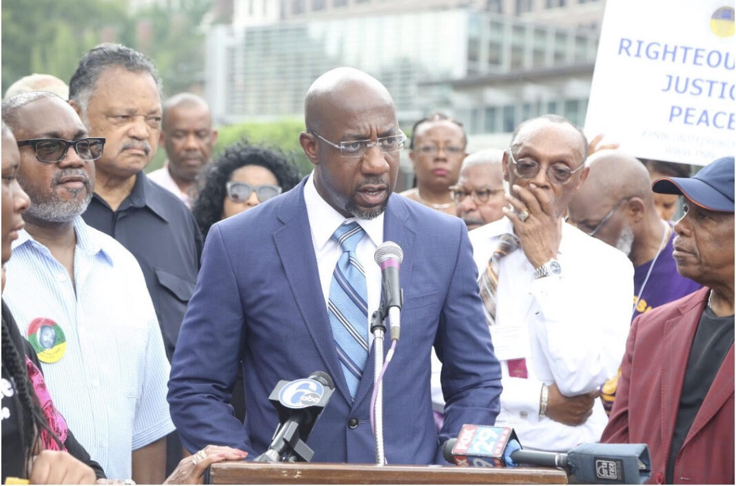 Raphael Warnock Democratic Candidate in Georgia