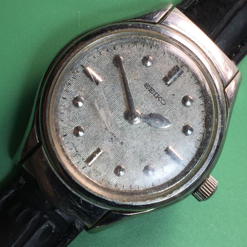 Seiko 6618-6000 Watch for the Visually Impaired
