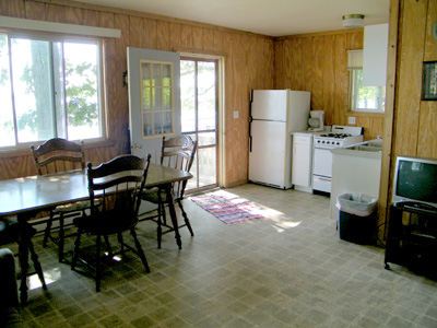 Cabin Four Kitchen/Dining Room
