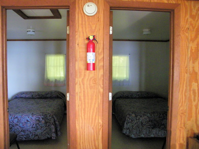 Cabin One Bedrooms