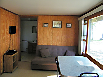 Cabin One Living/Dining Room