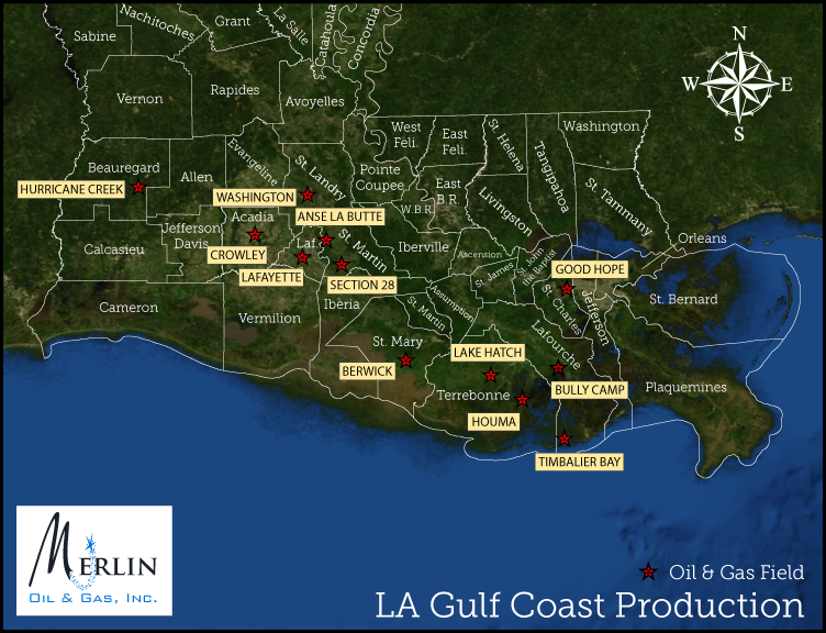 LA Gulf Coast Production