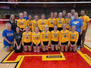 7th and 8th Grade Volley Ball teams