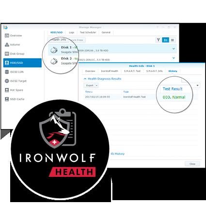 Seagate Ironwolf Health