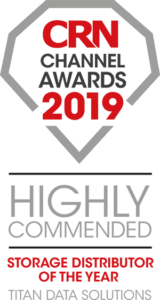 Titan Data Solutions is recognised by CRN as Highly Commended in the storage distributor of the year category