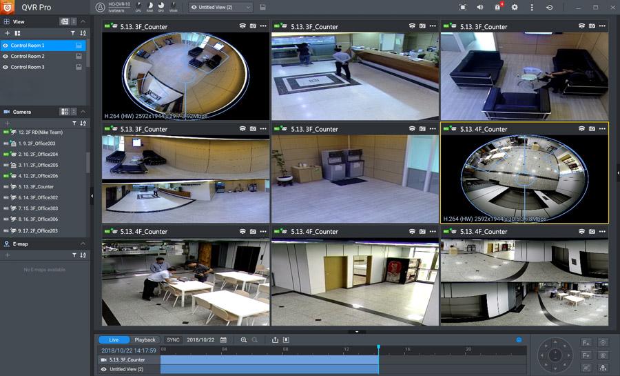 QNAP Surveillance Live View