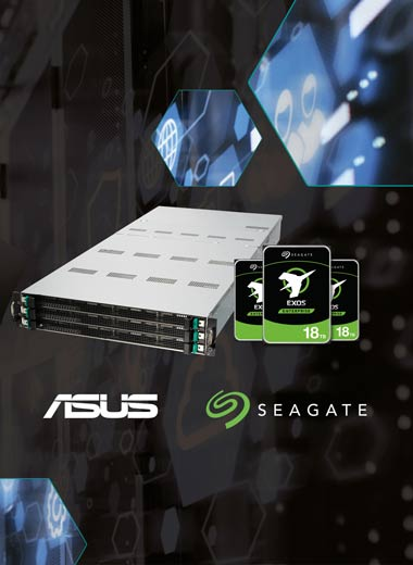 ASUS and Seagate partnered to bring business a best in class data storage solution