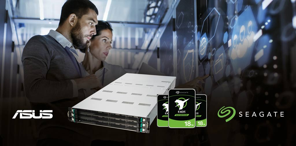 Seagate and ASUS teamed up to provide a solution for business looking to store, handle, and use data in their day-to-day business operations