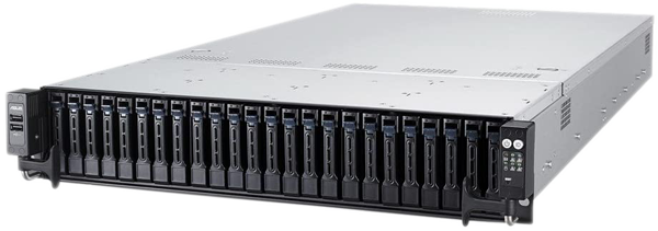 ASUS Rackmount Server packs incredible power and data capacity in a small space