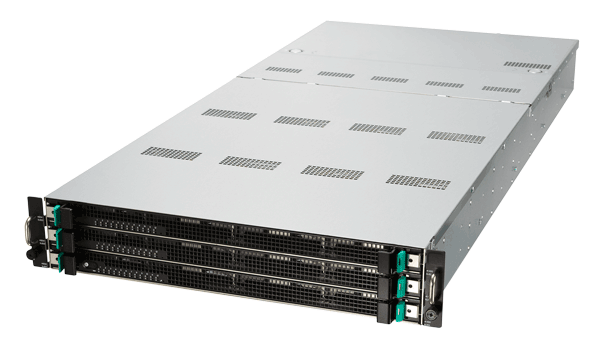 Innovative 2U 36 bays in 3 layer HDD Data Storage Server from ASUS