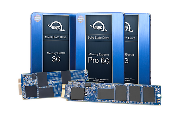 For the best speed, capacity, and performance boost in your ideal workflow, whether it's for content creation, editing, or mission critical data storage, choose an OWC SSD