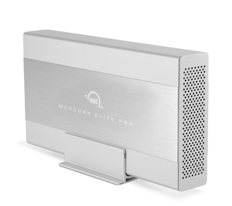 Mercury Elite Pro is an outstanding performer, delivering the speed to master any workflow – up to 300MB/s