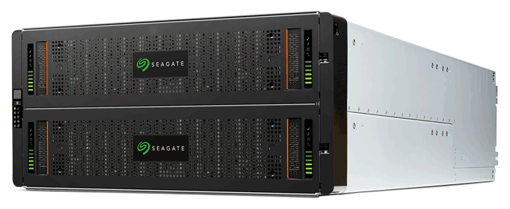 Exos X 5U84 data storage system