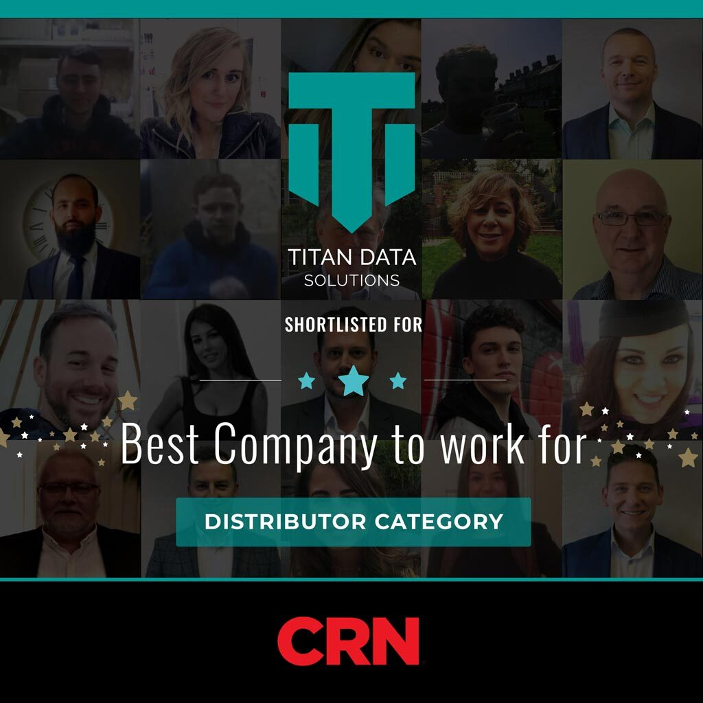 CRN Sales and Marketing Awards - Best Company to work for