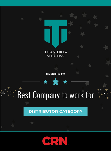 Titan Data Solutions make the final of the CRN Awards in the best company to work for