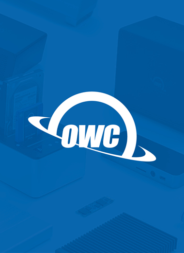 OWC is a premium manufacturer of Data Storage products
