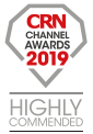 Titan Data Solutions win the Highly Commended award at the 2019 CRN Channel Awards