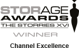 Titan Data Solutions win the Channel Excellence award at this years Storage Awards