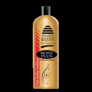 Straight Request Moist Plus Conditioner + Shampoo | 64 oz
