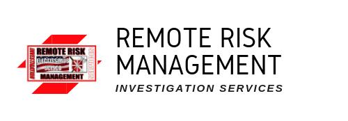 Remote Risk Management