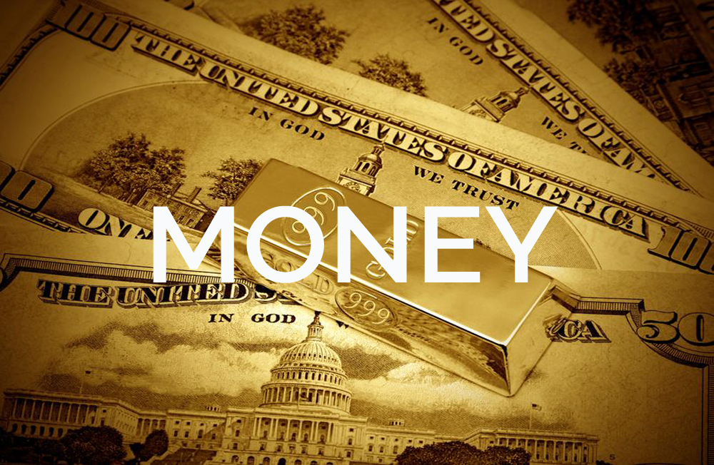 13208222 - the money dollars and gold bullion