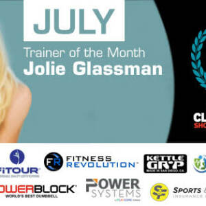 Jolie Glassman was selected as Trainer of the Year Award finalist