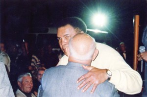 Muhammad Ali & Angelo Dundee at South Beach Boxing