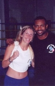 Jolie Glassman & Roy Jones Jr.