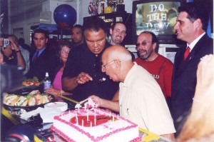 Angelo Dundee 80th Birthday celebration at south beach boxing