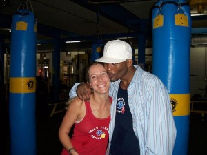Jolie Glassman & Bernard Hopkins