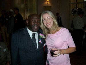 Boxing Legend Emile Griffith  & Jolie Glassman