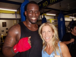 Kyle Moore & Jolie Glassman at South Beach Boxing